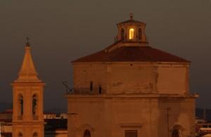 Chiesa di San Ferdinando al tramonto