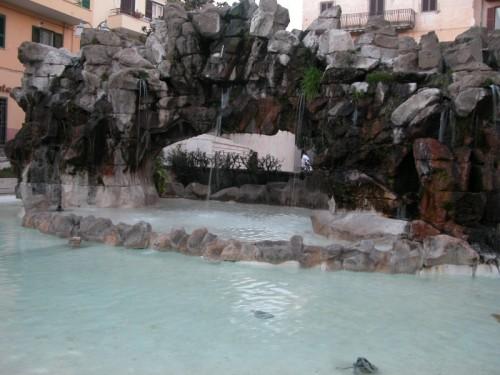 Lanuvio - La fontana degli scogli