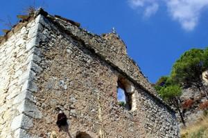 Chiesa diruta della Madonna di Montevergine a Venafro
