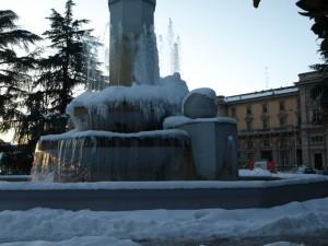 Fontana a Cuneo Stazione