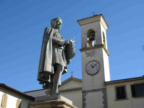 Vicchio - Vicchio: la parrocchiale di S.Giovanni Battista e Giotto