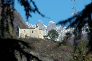 La Chiesa di San Bartolomeo sopra Sondrio
