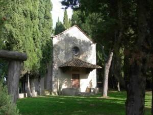 La cappella della villa Medicea del Trebbio