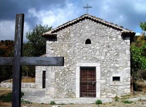 Chiesetta di S. Cosma nei pressi di Conca Casale