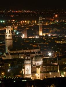 San Giorgio ed il Duomo di notte