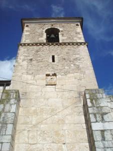 Cattedrale di Venafro: torre campanaria