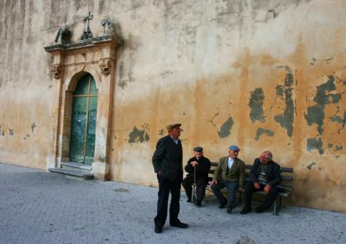 Scicli - ingresso laterale barocco