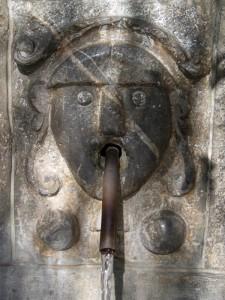 la fontana di Civita