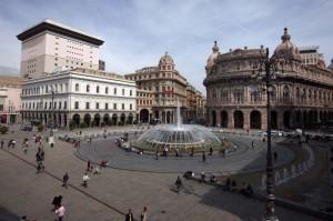 Fontana Piazza De Ferrari