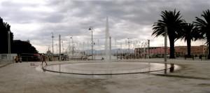 Fontana a Cagliari - Piazza Darsena