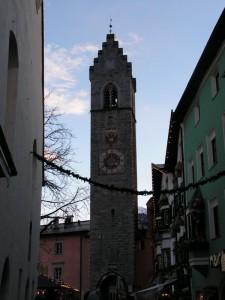 Campanile della chiesa di Vipiteno (BZ)