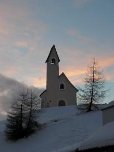 Chiesetta del Passo Sella a Selva di Val Gardena