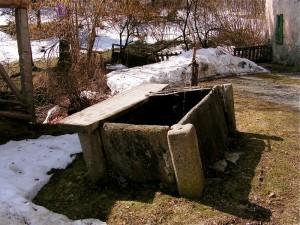 Fontana ai mulini a Scaria frazione di Lanzo d'Intelvi