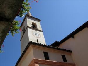 campanile e gerani