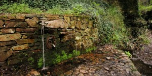 Fontana della sorgente Monti Mannu