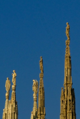 Milano - Le guglie del Duomo