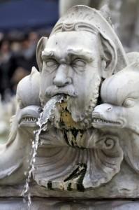 Fontana del moro.