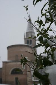 Abbazia con la neve 2