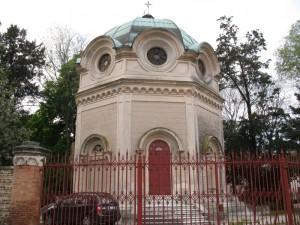 La cappella ottagonale di villa Bon