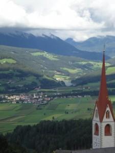 Die Sankt Wolfgangsblick - Vista di san Wolfango