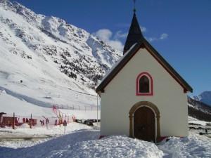 La vecchia chiesetta di Maso Corto