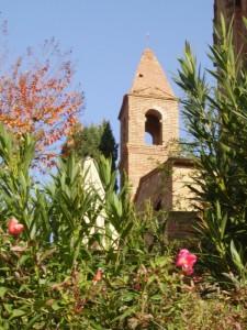 Il campanile del borgo