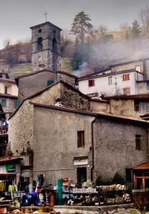 La chiesa di Vallico