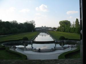 Villa Pisani: la grande vasca della Pescheria