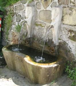 La fontanella dei Cavalli a Spelonga