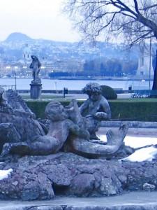 Fontana di Villa Olmo - particolare