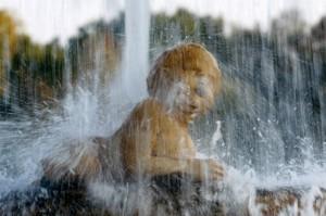 Fontana nella Reggia di Colorno - particolare