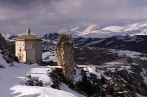 L'oratorio di Santa Maria Della Pietà a Rocca Calascio
