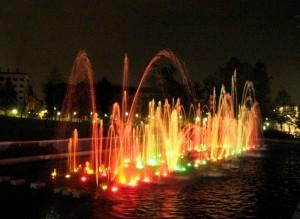 Giochi di colore al Parco del Valentino