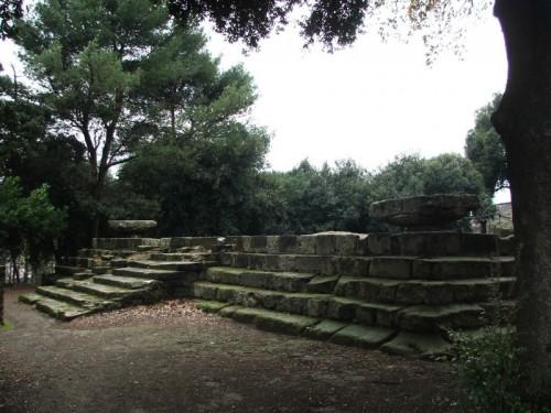 Pompei - Il Tempio Dorico nel Foro Triangolare di Pompei