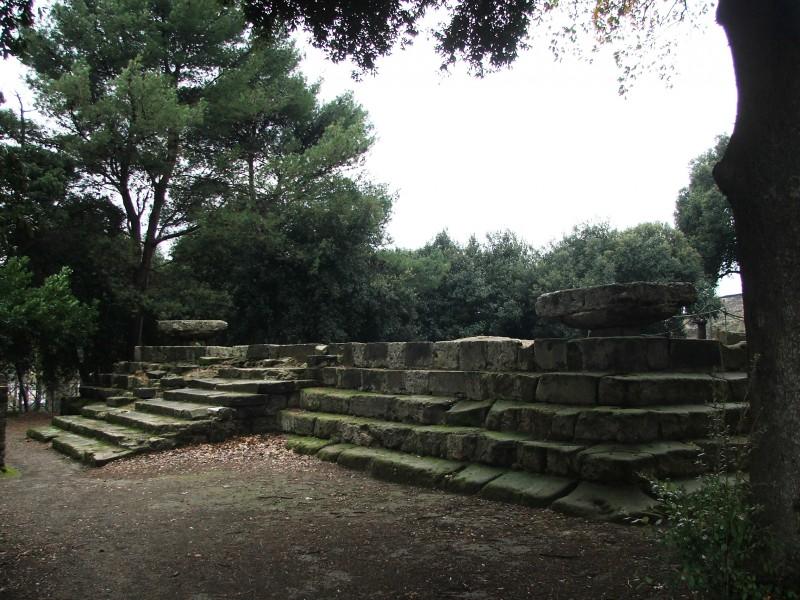 ''Il Tempio Dorico nel Foro Triangolare di Pompei'' - Pompei