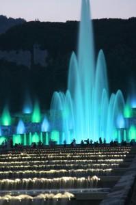 Fontana dell'Esedra - Mostra d'Oltremare