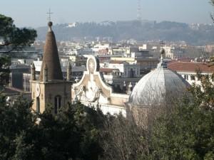 Campanile e Cupola Santa Maria del Popolo.