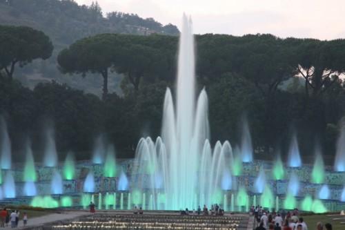 Napoli - Fontana dell'Esedra 3 - Mostra d'Oltremare