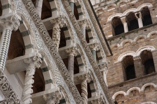 Lucca - Duomo di Lucca - particolare