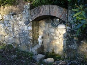 Il gatto della Fontana del Viandante
