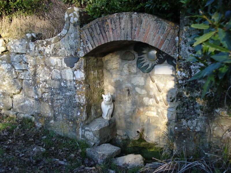 ''Il gatto della Fontana del Viandante'' - Bagno a Ripoli
