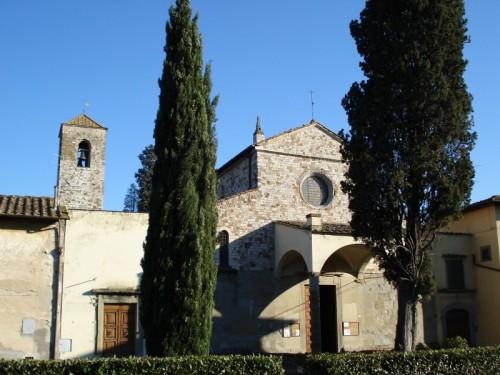 Bagno a Ripoli - Cipressi a guardia di San Pietro