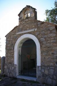 Cappella di San Pietro - baia di Crapolla