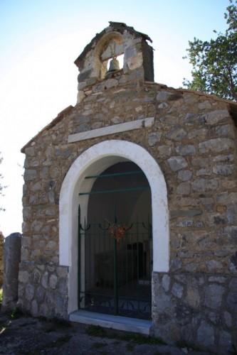 Massa Lubrense - Cappella di San Pietro - baia di Crapolla
