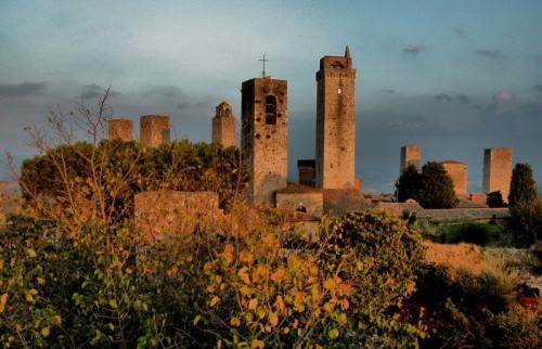 San Gimignano - Campanile della Collegiata a San Gimignano
