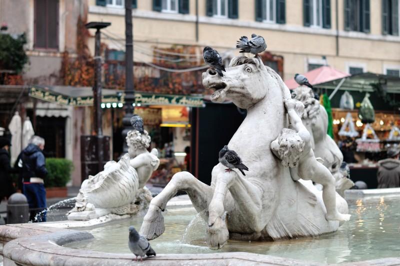''La sofferenza'' - Roma