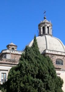 Monastero di Paternò - Particolare della cupola