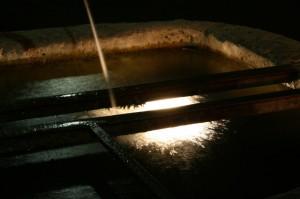 luccicante acqua…… - la fontana - Lenzima fraz. di Isera - Trentino