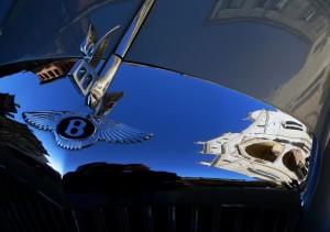 """""""Il Duomo di Verona su una Bentley"""""""
