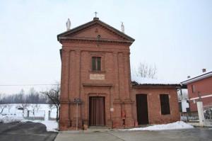 Chiesa di Villlafranca d'Asti localita' case bruciate